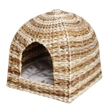 Pet Pals Pet Pals Banana Leaf Cabana Style Covered Pet Bed