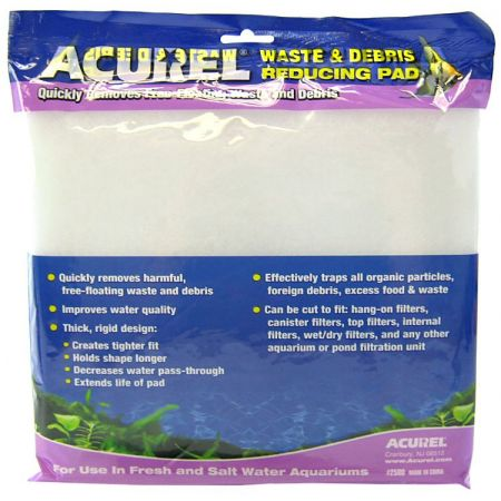 Acurel Acurel Waste & Debris Reducing Pad - Polyfiber Media Pad
