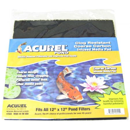Acurel Acurel Coarse Carbon Infused Media Pad - Pond