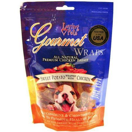 Loving Pets Loving Pets Gourmet Sweet Potato & Chicken Wraps