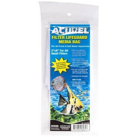 Acurel Filter Lifeguard Media Bag with Drawstring