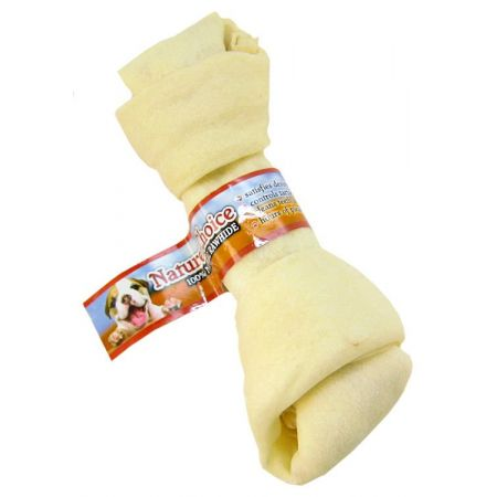 Loving Pets Nature's Choice 100% Natural Rawhide Knotted Bones alternate view 3