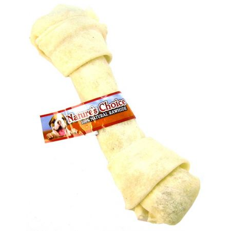 Loving Pets Nature's Choice 100% Natural Rawhide Knotted Bones alternate view 4