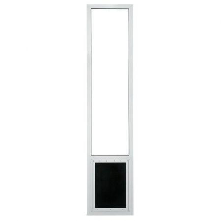 Pride Pet Doors Pride Pet Doors Patio Pet Door Sliding Glass & Screen Door Insert Panel - White