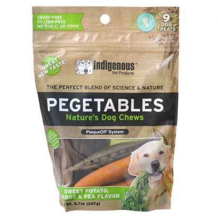 Indigenous Pet Products Indigenous Pegetables Nature's Dog Chew