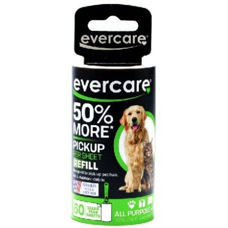 Evercare Evercare Pet Hair Adhesive Roller Refill Roll