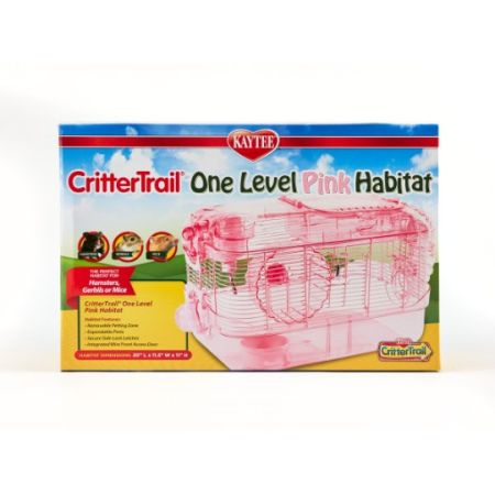 Kaytee Kaytee CritterTrail One Level Habitat - Pink