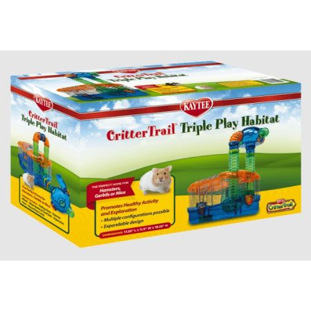 Super Pet Super Pet Critter Trail Tripple Play Habitat