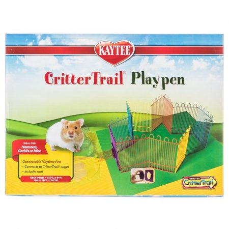 Super Pet Super Pet Critter Trail Playpen with Protective Mat