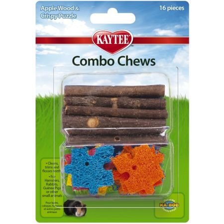 Super Pet Super Pet Combo Chews Apple Wood & Crispy Puzzle