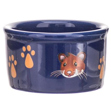 Super Pet Super Pet Paw Print & Hamster Face Crock