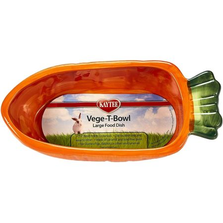 Super Pet Super Pet Veg-T-Bowl - Carrot