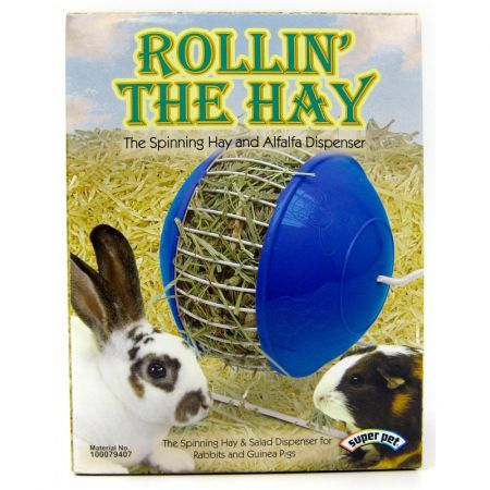 Super Pet Super Pet Rollin' The Hay Spinning Hay Wheel - Assorted