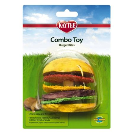 Super Pet Super Pet Combo Toy Wood & Crispy Hamburger