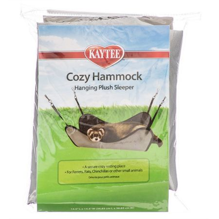 Kaytee Kaytee Plush Hammock Hanging Sleeper - Assorted