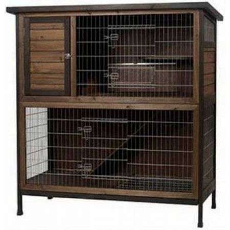 Super Pet Super Pet Premium 2 Story Rabbit Hutch