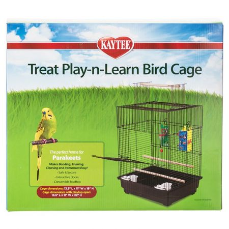 Kaytee Kaytee Treat Play-n-Learn Bird Cage - Parakeet