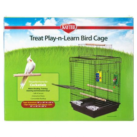 Kaytee Kaytee Treat Play-n-Learn Bird Cage - Cockatiel