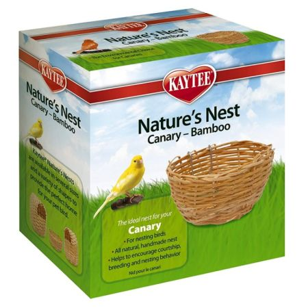 Super Pet Super Pet Nature's Nest Bamboo Nest - Canary