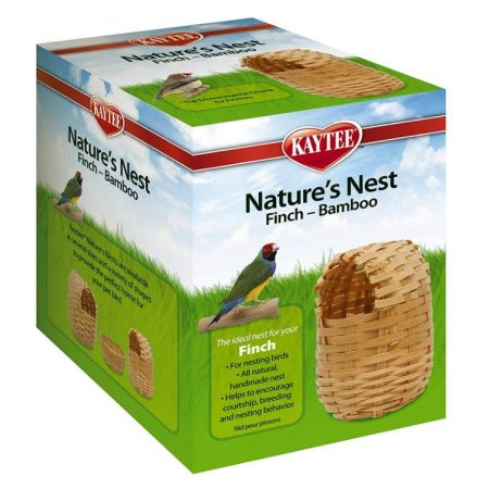 Super Pet Super Pet Nature's Nest Bamboo Nest - Finch