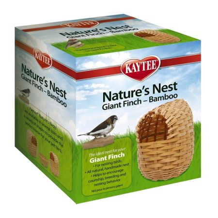 Kaytee Nature's Nest Bamboo Nest - Finch alternate view 2