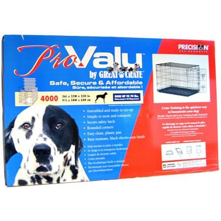 Precision Pet Pro Value by Great Crate - 1 Door Crate - Black alternate view 4