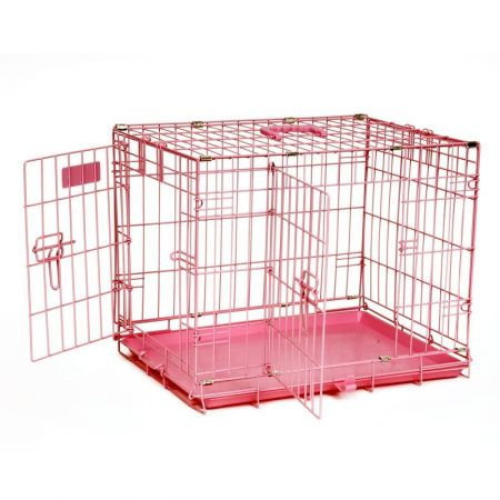 Precision Pet Precision Pet SnooZZy Baby 1 Door Crate - Baby Pink