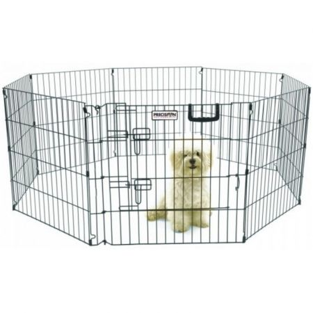 Precision Pet Ultimate Play Yard Exercise Pen - Black