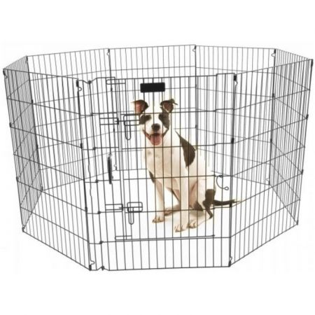 Precision Pet Ultimate Play Yard Exercise Pen - Black alternate view 3