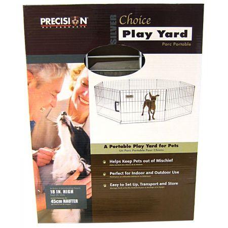 Precision Pet Precision Pet Silver Choice Exercise Pen Model SXP