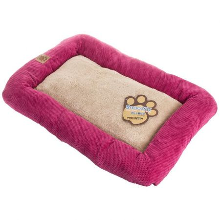 Precision Pet Mod Chic Bumper Bed - Rose & Tan