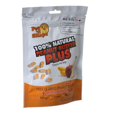 Pet 'n Shape Pet 'n Shape 100% Natural Freeze Dried Peanut Butter & Fruit - Dog Treats