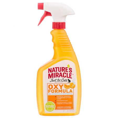 Natures Miracle Nature's Miracle Just for Cats Stain & Odor Remover - Orange Oxy Power