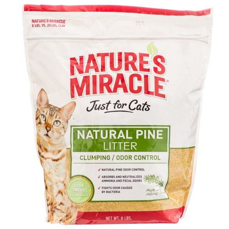 Natures Miracle Nature's Miracle Just for Cats Natural Pine Litter