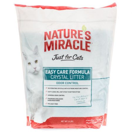 Natures Miracle Nature's Miracle Just for Cats Easy Care Formula Crystal Litter