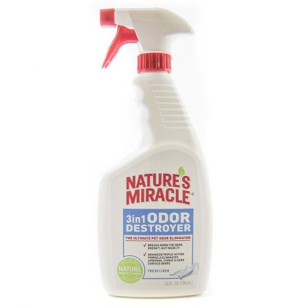 Natures Miracle Nature's Miracle 3 in 1 Odor Destroyer - Fresh Linen Scent