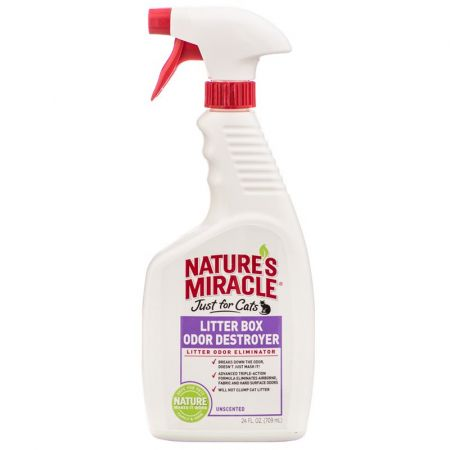 Natures Miracle Nature's Miracle Just for Cats Litter Box Odor Destroyer