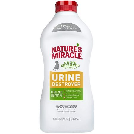 Natures Miracle Nature's Miracle Just for Cats Urine Destroyer