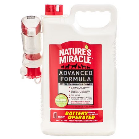 Natures Miracle Nature's Miracle Advanced Stain & Odor Remover Battery Operated Power Spray