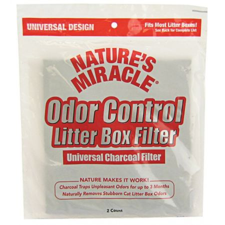 Natures Miracle Nature's Miracle Odor Control Litter Box Filter
