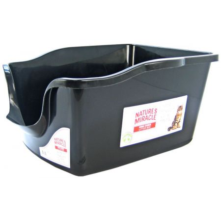 Natures Miracle Nature's Miracle High Side Plastic Litter Pan