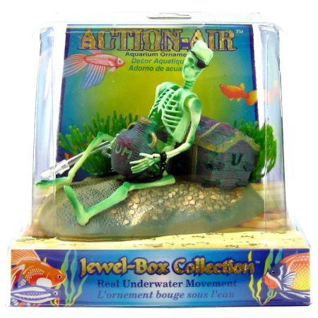 Penn Plax Penn Plax Action Air Jewel Box with Skeleton