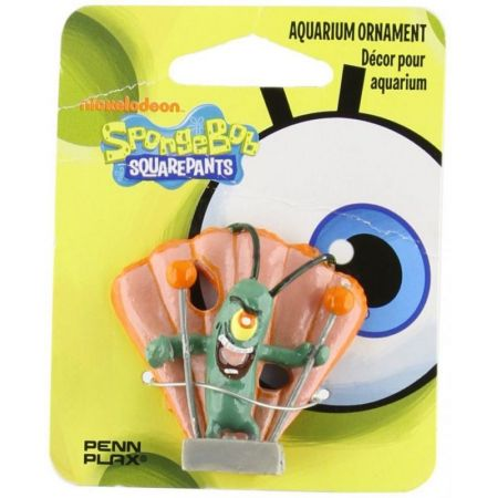 SpongeBob Spongebob Plankton Aquarium Ornament