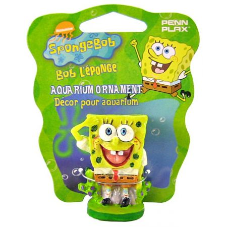 SpongeBob Spongebob Spongebob Square Pants Aquarium Ornament