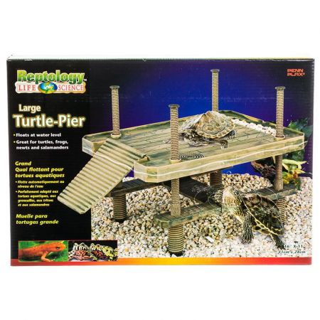Reptology Reptology Large Floating Turtle Pier