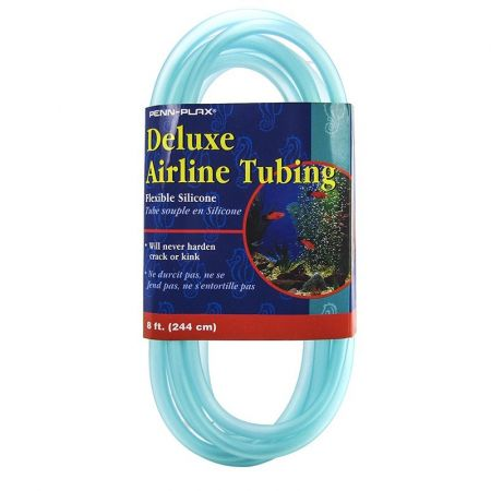 Penn Plax Penn Plax Delux Airline Tubing - Silicone