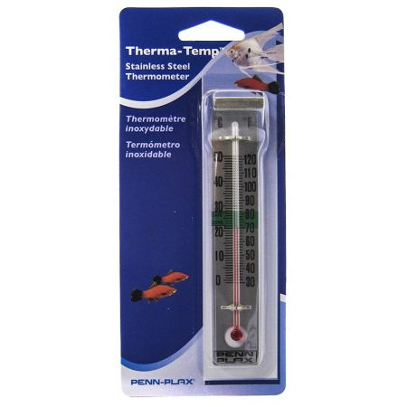 Penn Plax Penn Plax Therma-Temp Sainless Steel Thermometer