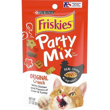 Friskies Friskies Party Mix Original Crunchy Cat Treats