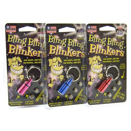 Petsport USA Petsport USA Bling Bling Blinkers - Assorted Colors