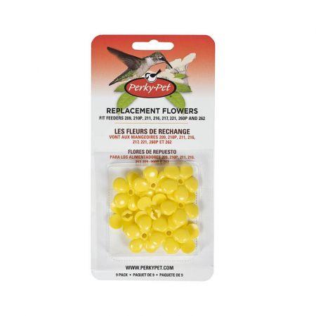 Perky Pet Perky Pet Replacement Yellow Feeder Flowers
